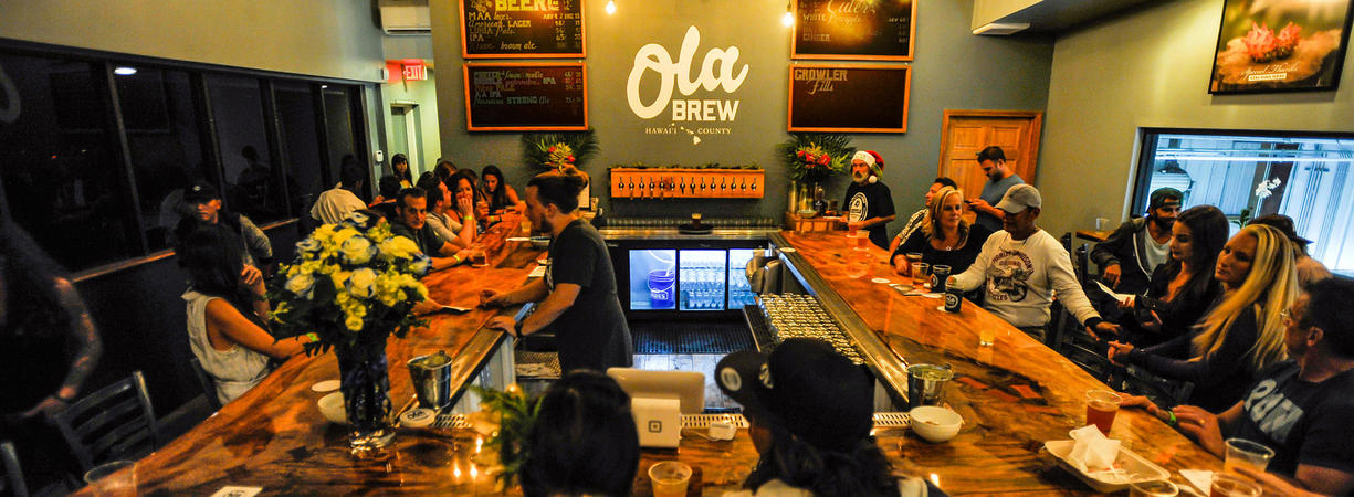 Ola Brew Co. cover feature