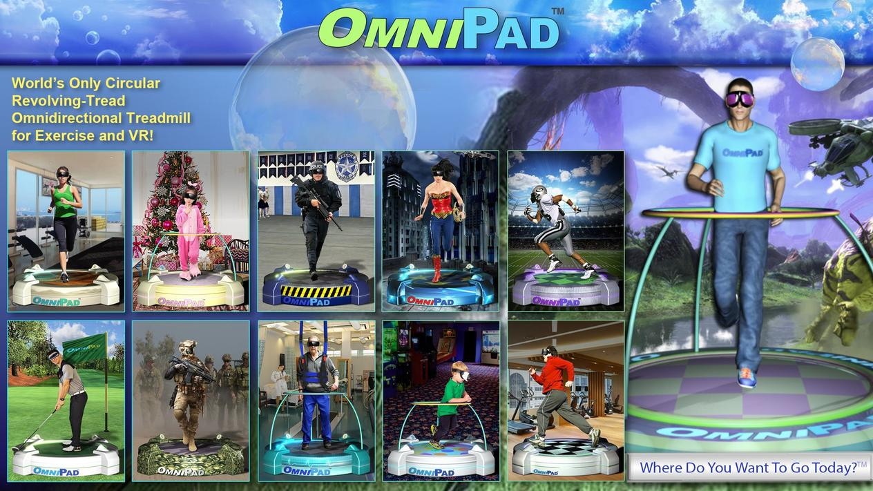 3807b2f1beb Invest in OmniPad Company  The Ultimate Solution for 360° Virtual Reality  Gaming