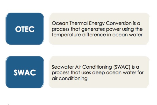 OTEC and SWAC